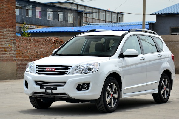Haval H6 China July 2014. Picture courtesy of auto.qq.com