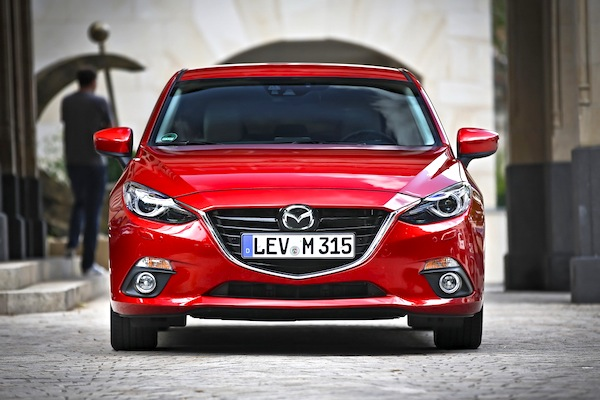 Mazda3 Poland July 2014. Picture courtesy of largus.fr