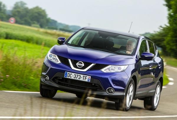 Nissan Qashqai Estonia November 2014. Picture courtesy of largus.fr