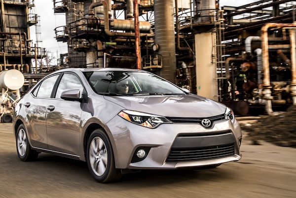 Toyota Corolla USA January 2015. Picture courtesy of motortrend.com