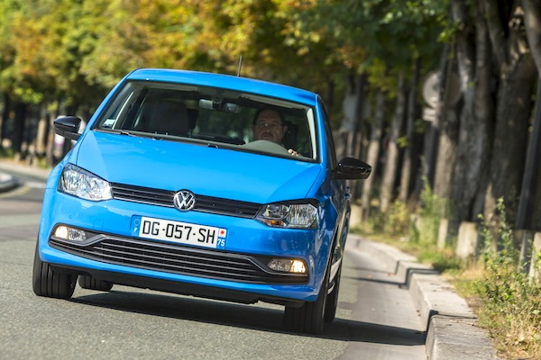 VW Polo Europe August 2014. Picture courtesy of largus.fr