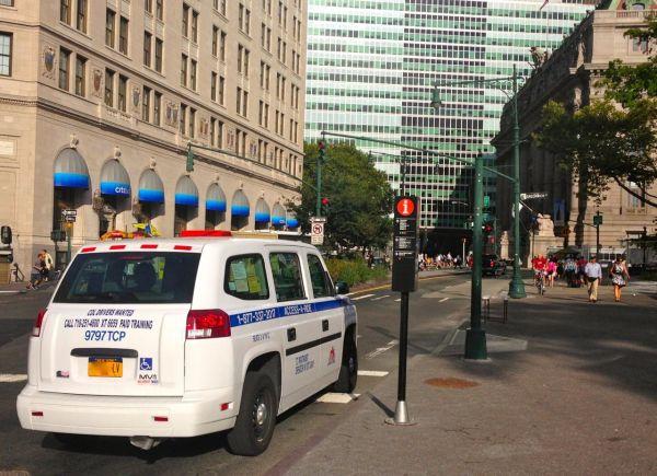 9. MV-1 Minicab New York