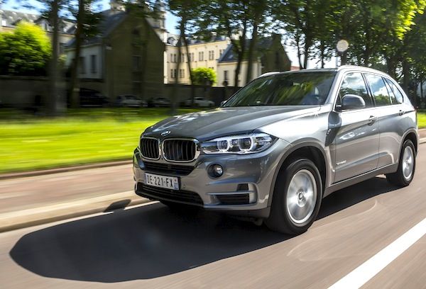 BMW X5 Czech Republic August 2014. Picture courtesy of largus.fr