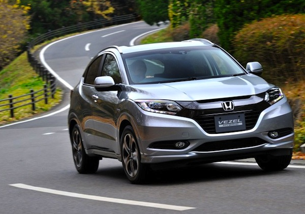 Honda Vezel Singapore March 2016