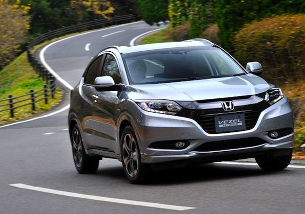 Honda Vezel China November 2014