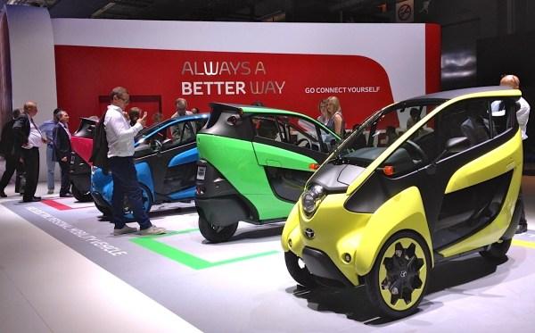 7. Toyota iRoad