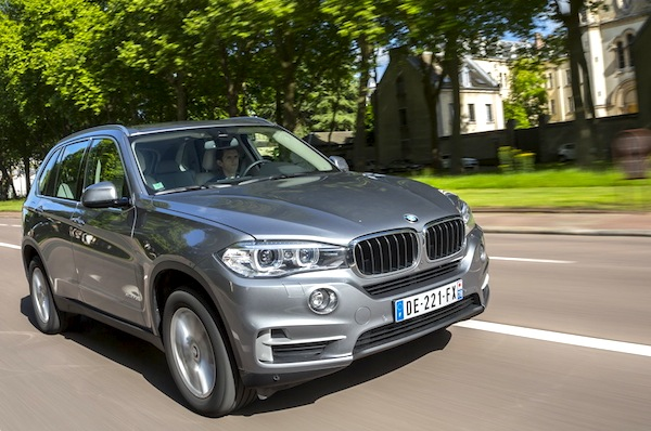 BMW X5 Moldova August 2014. Picture courtesy of largus.fr