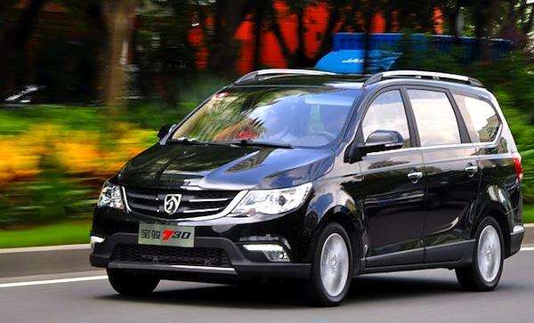 Baojun 730 China September 2014. Picture courtesy of auto.sina.com.cn