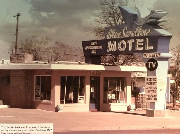 Blue Swallow Motel 1939