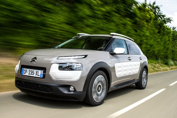 Citroen C4 Cactus New Caledonia September 2014. Picture courtesy of largus.fr