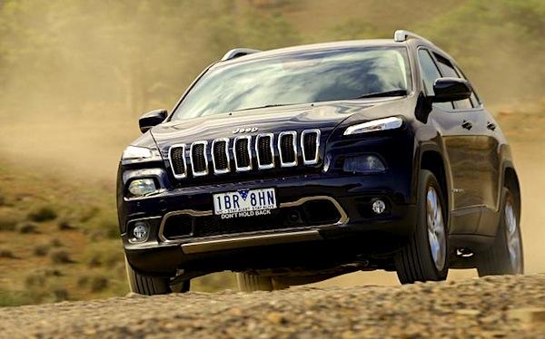 Jeep Cherokee Australia September 2014. Picture courtesy of caradvice.com.au