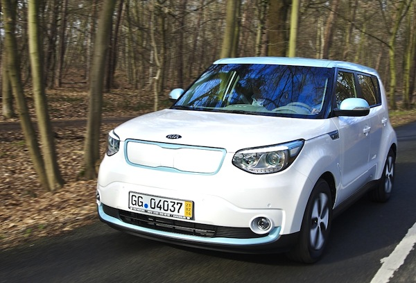 Kia Soul Electric Norway September 2014