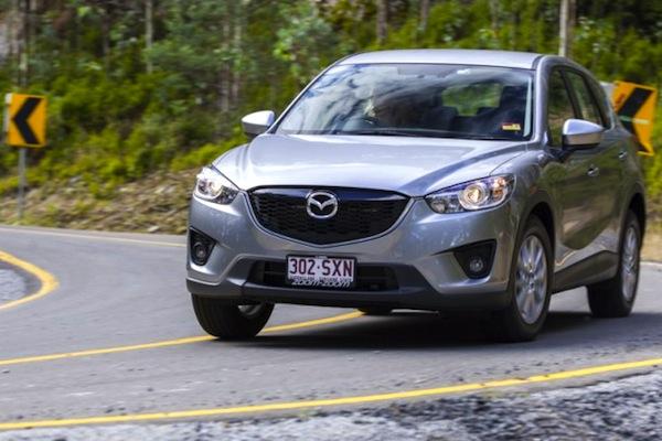 Mazda CX-5 Australia September 2014. Picture courtesy of themotorreport.com.au