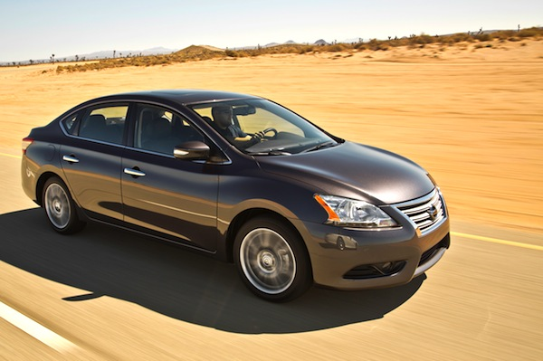 Nissan Sentra Syria 2015. Picture courtesy of motortrend.com