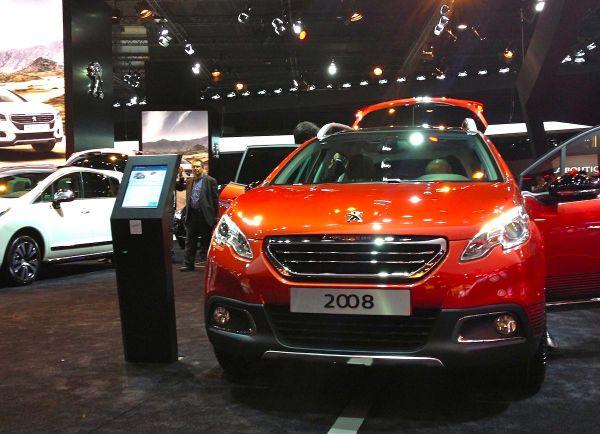 Peugeot 2008 Paris Auto Show