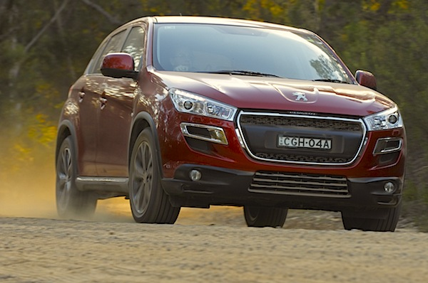 Peugeot 4008 Australia September 2014. Picture courtesy of themotorreport.com.au
