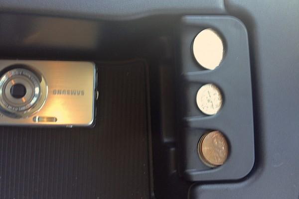 Ram 1500 ecoDiesel coin dispenser