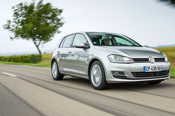 VW Golf Germany 2014. Picture courtesy of largus.fr