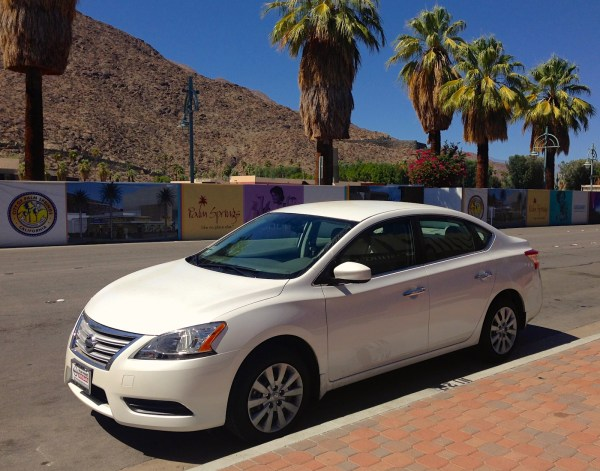 10. Nissan Sentra Palm Springs