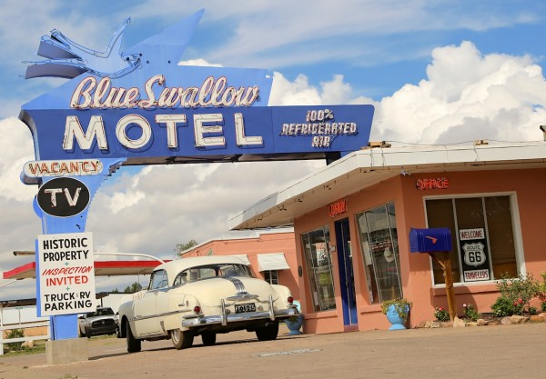 24. Blue Swallow Motel Tucumcari NM