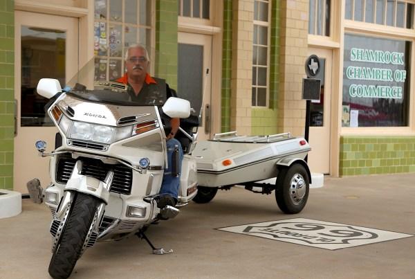 Biker Shamrock TX