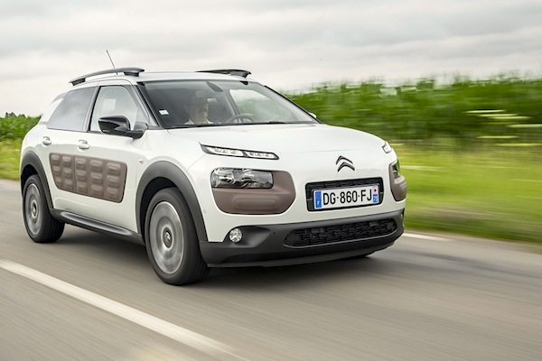 Citroën C4 Cactus France June 2016. Picture courtesy largus.fr