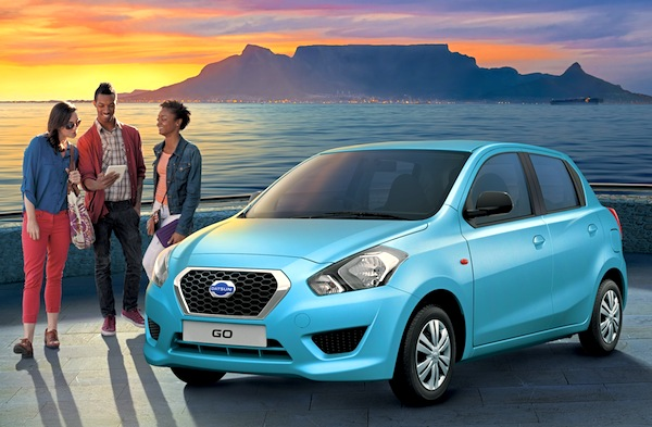 Datsun Go South Africa October 2014