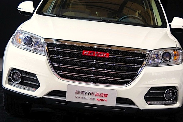 Haval H6 Sport China October 2014. Picture courtesy of qc188.com