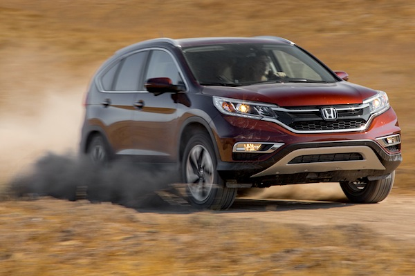 Honda CR-V USA October 2014. Picture courtesy of motortrend.com