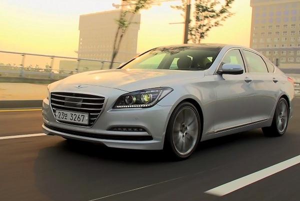 Hyundai Genesis Australia October 2014