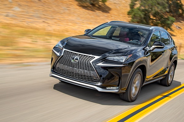 Lexus NX Norway October 2014. Picture courtesy of motortrend.com