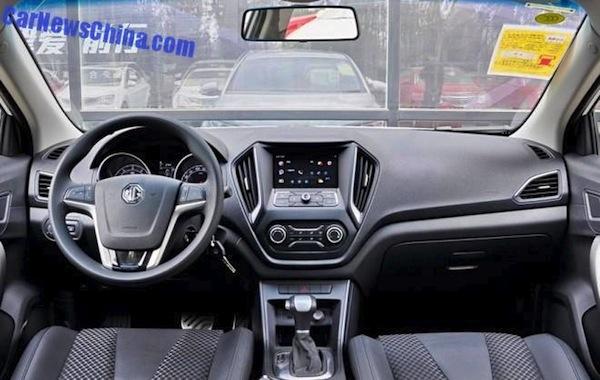 MG GT interior
