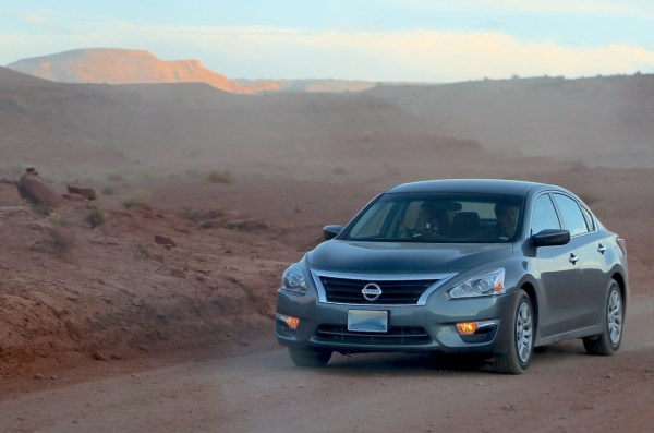 Nissan Altima Monument Valley