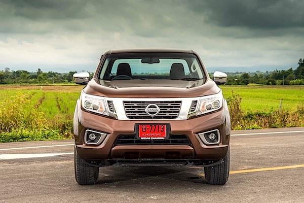 Nissan Navara Thailand September 2014