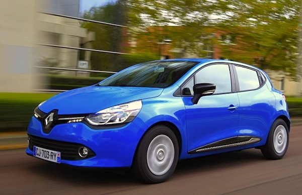 Renault Clio Italy April 2015. Picture courtesy of automobile-magazine.fr