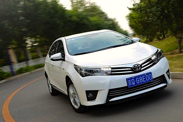 Toyota Corolla China June 2015. Picture courtest of xgo.com.cn
