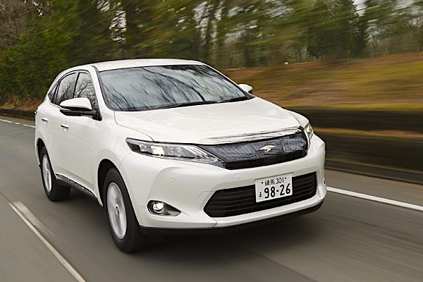 Toyota Harrier Japan October 2014