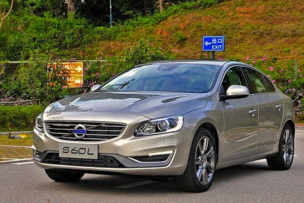 Volvo S60L China October 2014. Picture courtesy of chexun.com