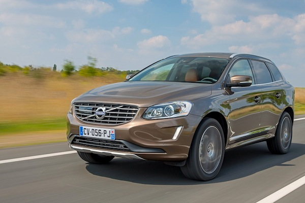 Volvo XC60 Sweden 2014. Picture courtesy of largus.fr