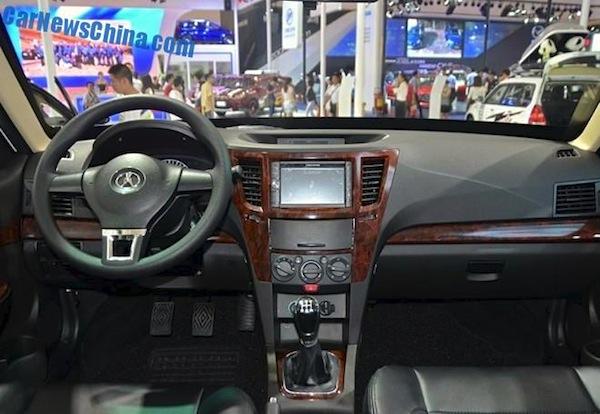 Yema F16 interior