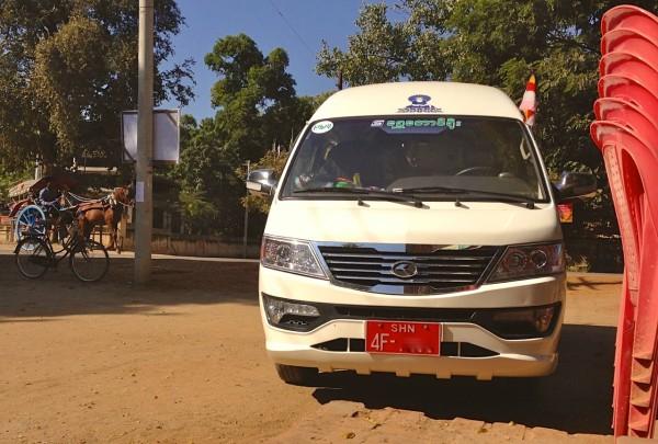 1. King Long Minivan Bagan 2