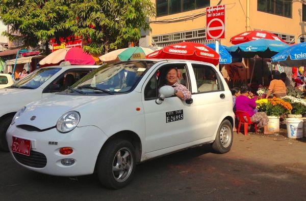 Chery QQ Yangon