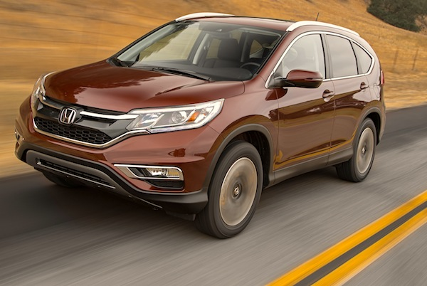 Honda CR-V Mexico November 2014. Picture courtesy of motortrend.com