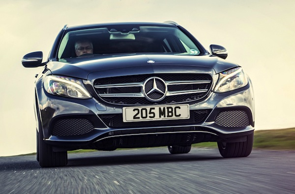 Mercedes C Class UK November 2014