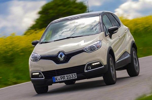 Renault Captur Germany November 2014