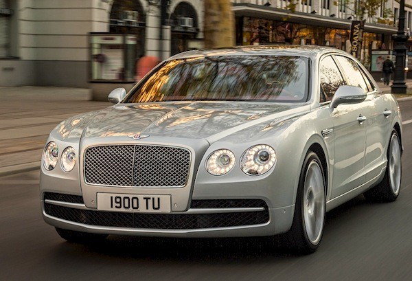 Bentley Continental Flying Spur Europe November 2014