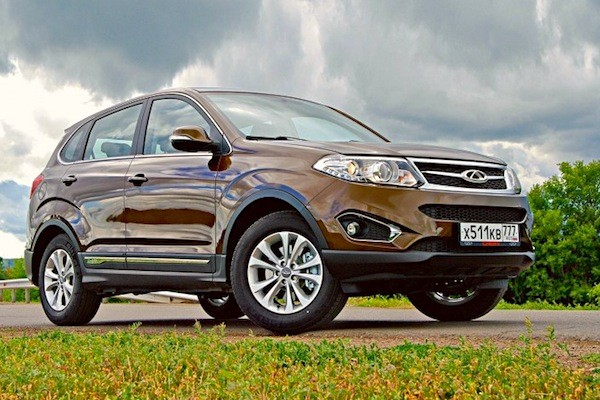 Chery Tiggo 5 Russia 2014. Picture courtesy of zr.ru