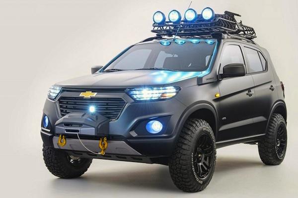 Chevrolet Niva 2015 Concept Russia December 2014