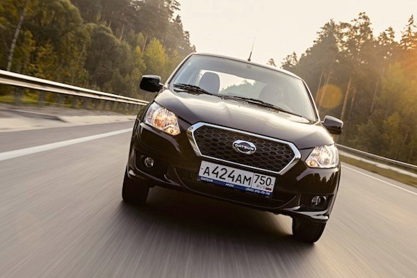 Datsun on-DO Russia December 2014. Picture courtesy of zr.ru