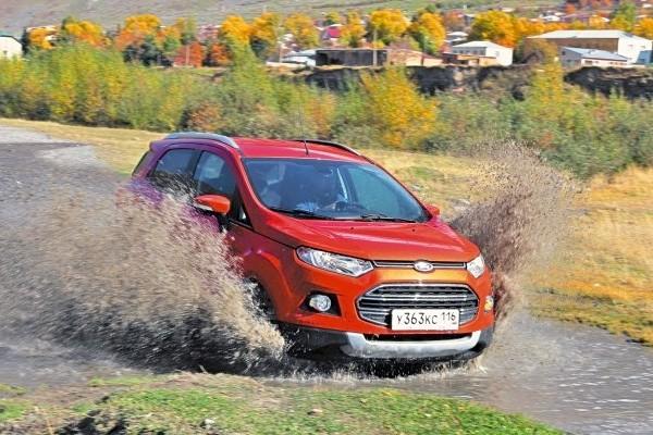 Ford Ecosport Russia 2014. Picture courtesy of zr.ru